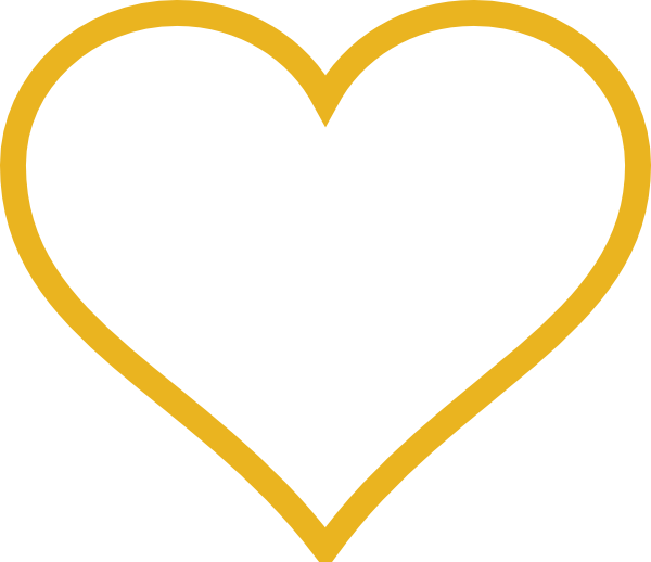 Gold Heart Clip Art at Clker.com.
