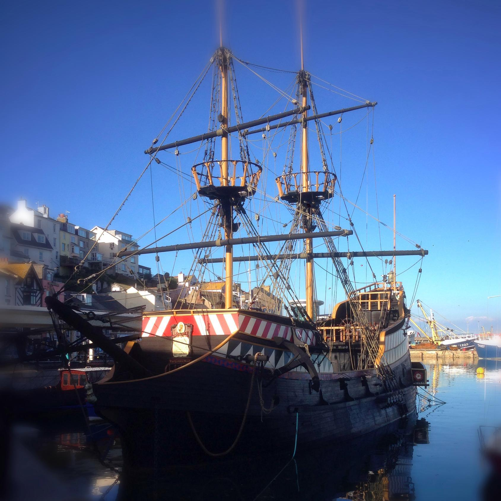 Golden Hind Brixham (@GoldenHindShip).