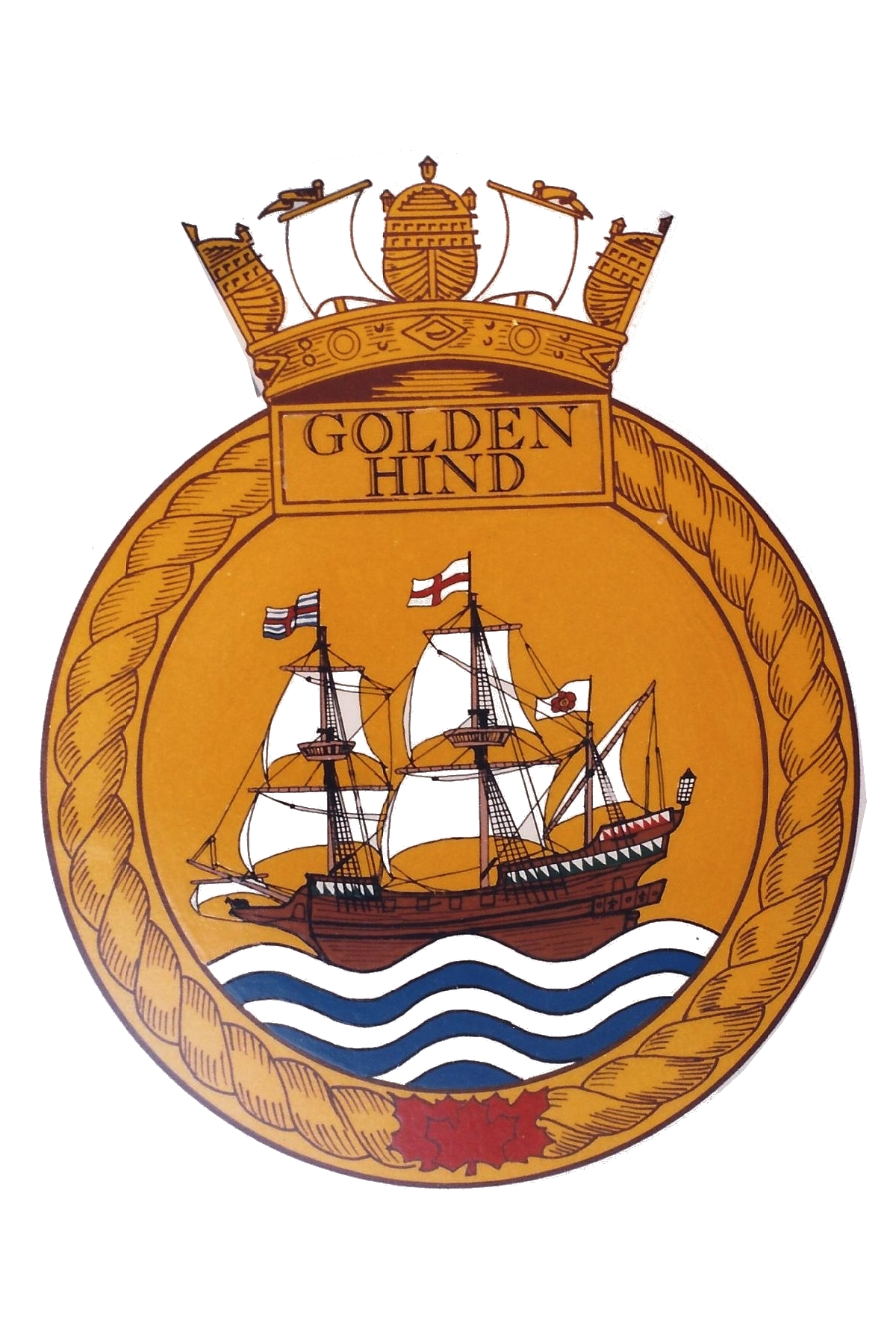 RHSC Roll of Arms: Golden Hind.