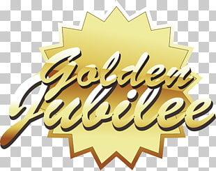 33 golden Jubilee PNG cliparts for free download.