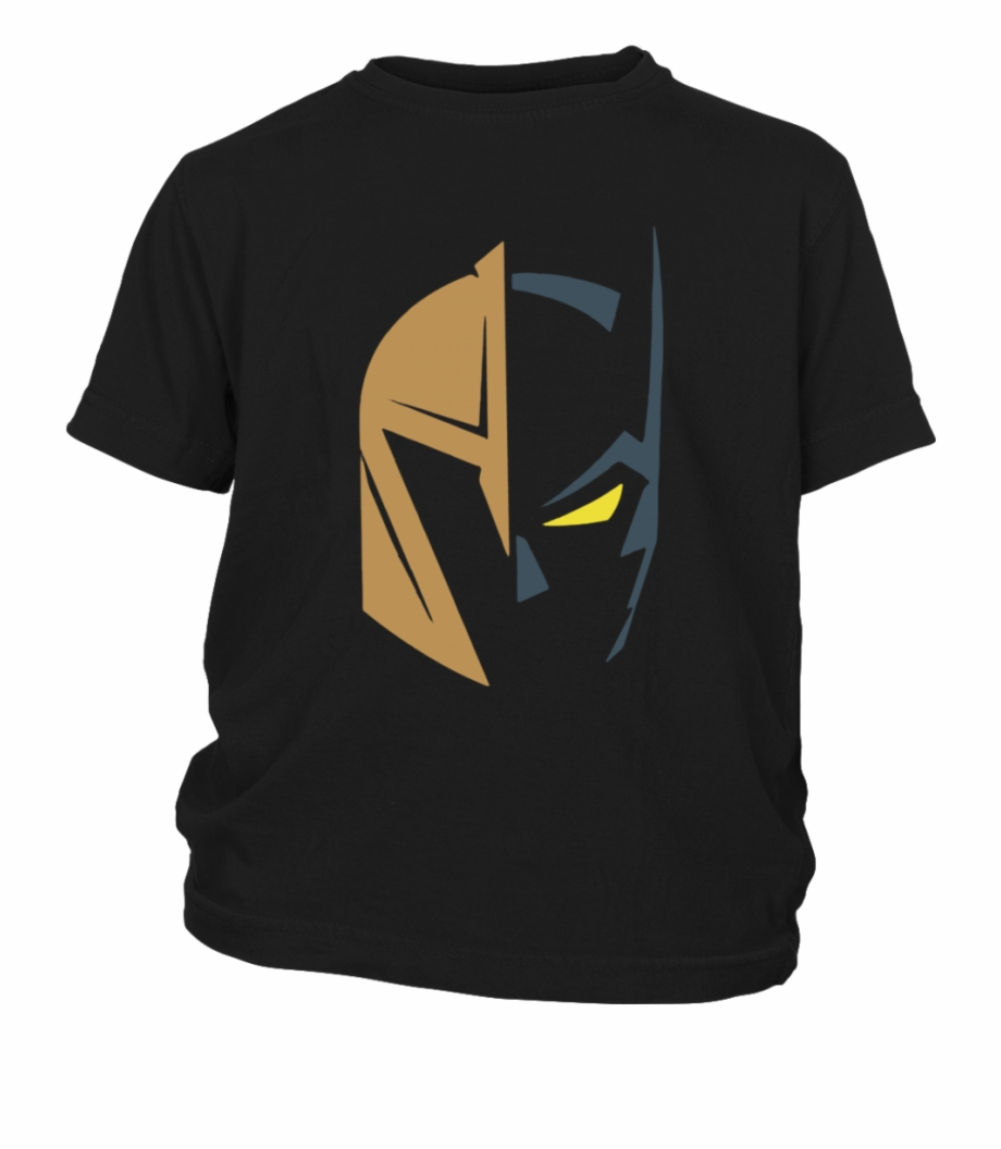 Vegas Golden Knights Logo And Batman The Dark.