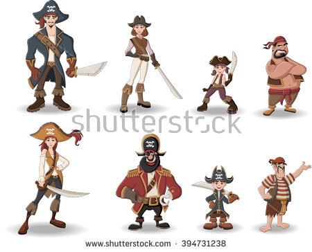 Pirate Woman Stock Photos, Royalty.