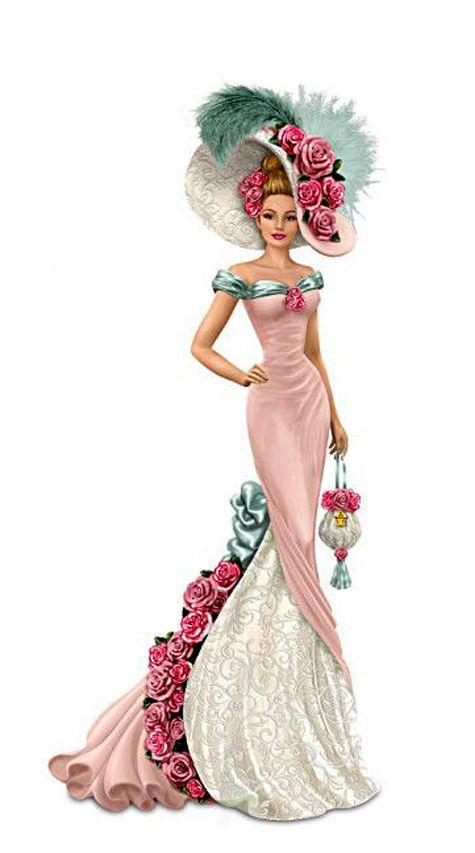 Lady Canada Figurine.