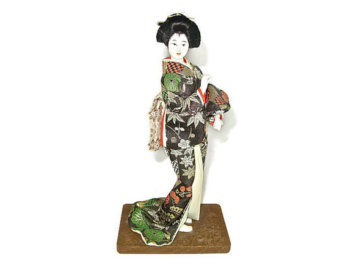 Geisha figurine.