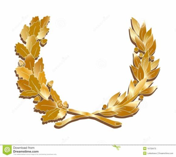 Golden Leaf Clip Art.