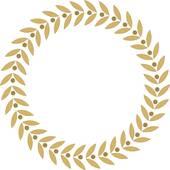 Gold leaf clipart.