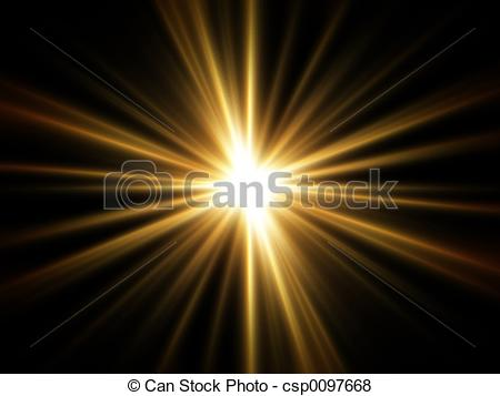 Pictures of Rays of Golden Light.