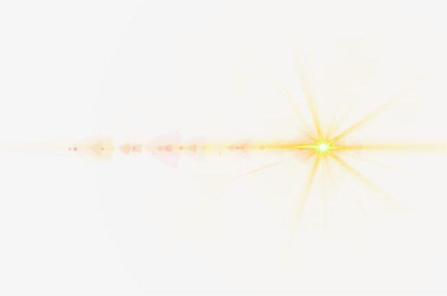 Golden Light Effect Element PNG, Clipart, Effect, Effect.