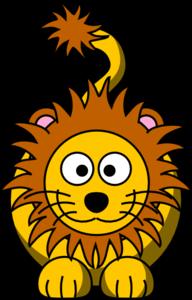 Cartoon Golden Lion Clip Art at Clker.com.