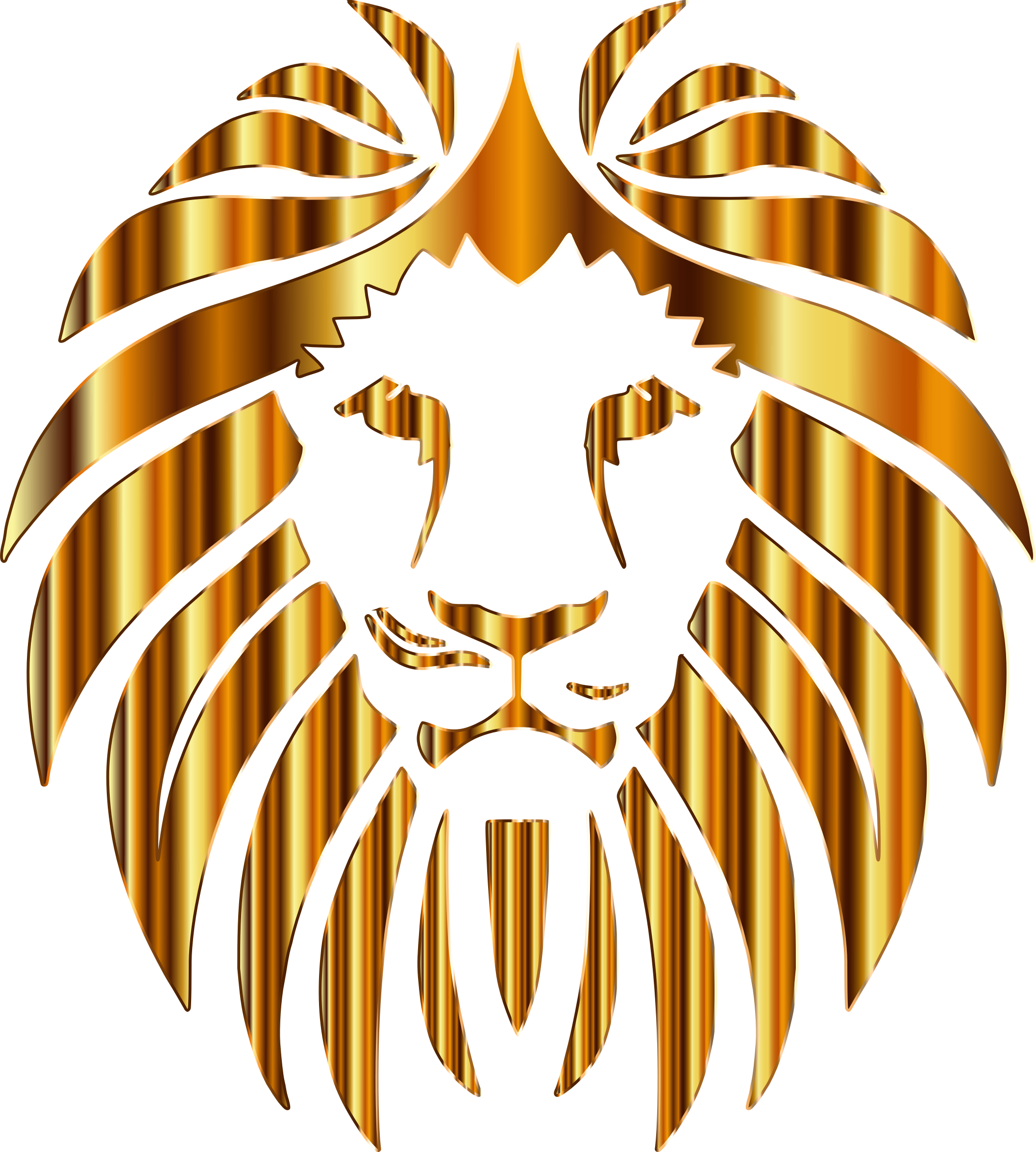 golden lion clipart clipground