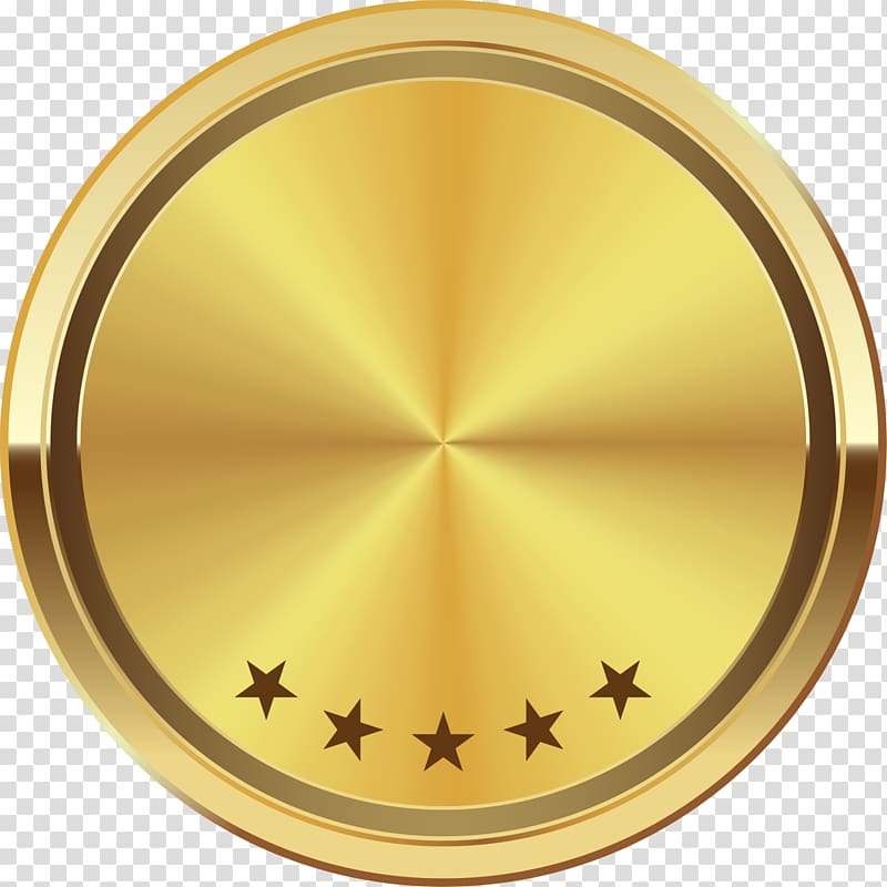 Round gold illustration, Logo Gold Symbol , Golden Star logo.