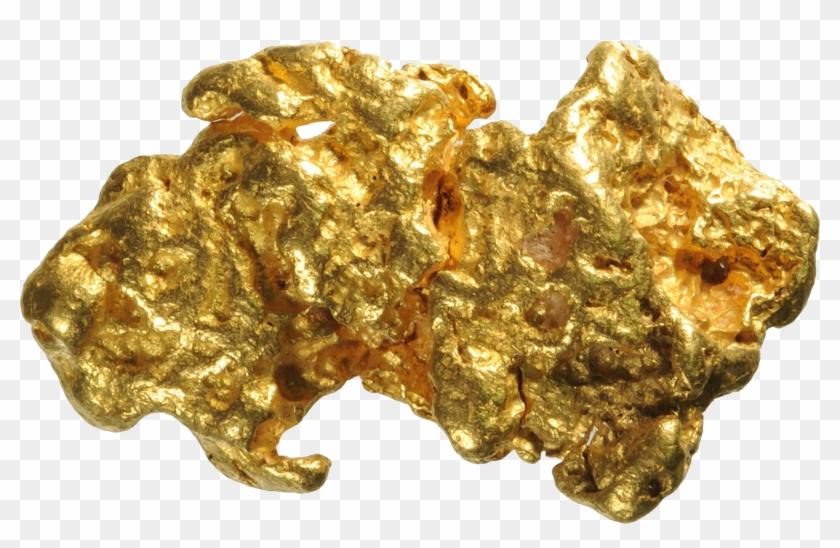 Gold Nugget Png Image, Transparent Png.