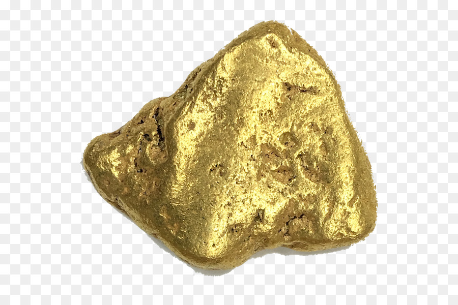 Gold Nugget png download.