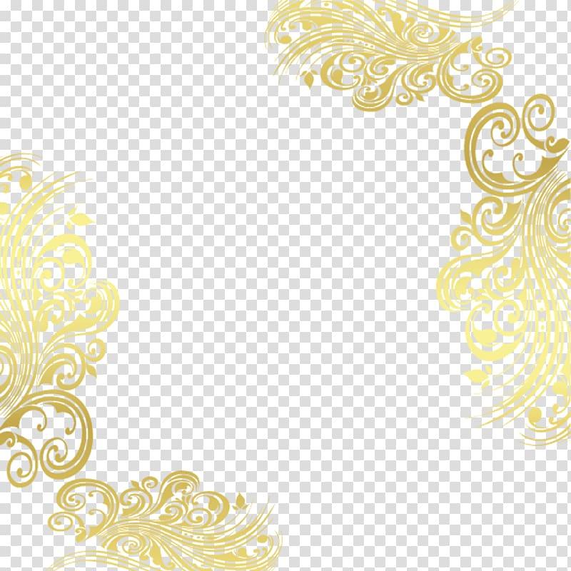 Brown floral frame , Pattern, Gold decorative patterns.