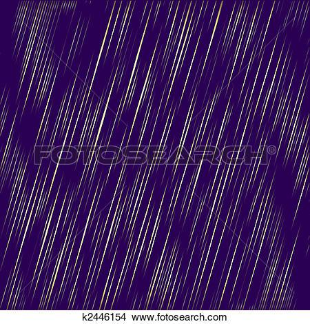 Clipart of Abstract golden rain (vector) k2446154.