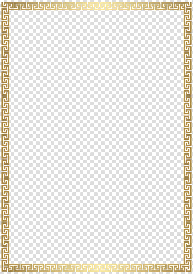 Golden Rectangle transparent background PNG cliparts free.