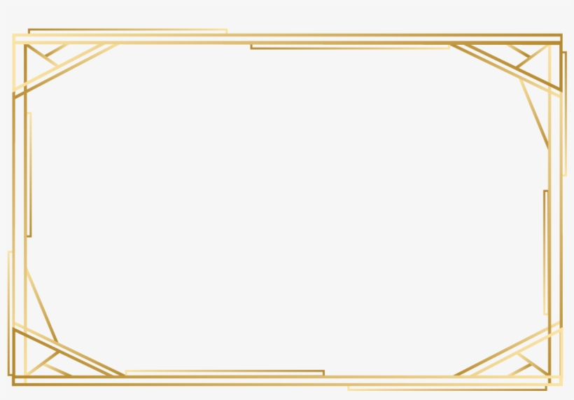 Gold Rectangle Png & Free Gold Rectangle.png Transparent.