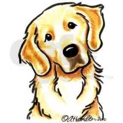 Clip Art Golden Retriever Portrait – Clipart Download.