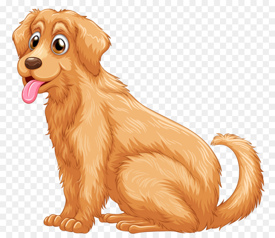 Golden Retriever Background png download.