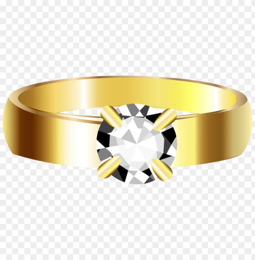 Download golden ring clipart png photo.