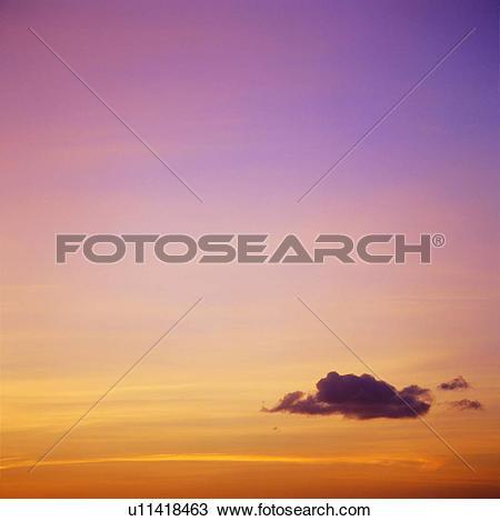 Stock Photo of background, sky, clouds, golden sky, sunrise.