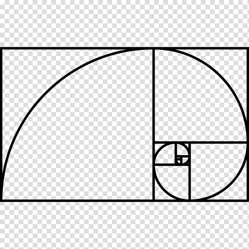 Golden ratio Drawing Golden spiral, Golden arch transparent.