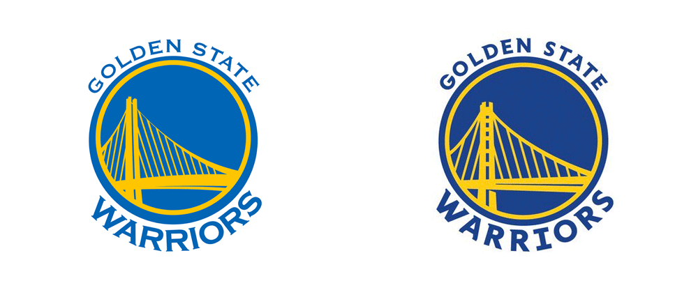 Brand New: New Logos for Golden State Warriors.