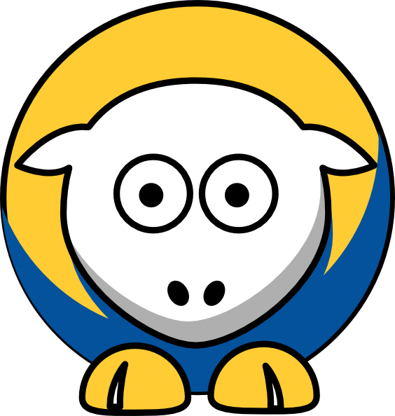 Sheep Golden State Warriors Team Colors Clip Art at Clker.com.