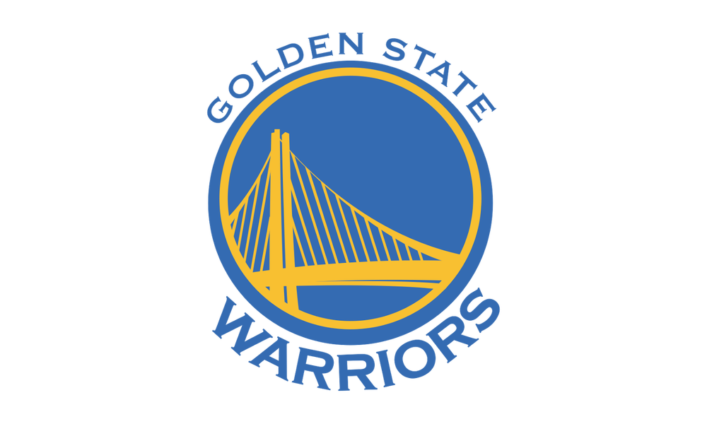 Golden State Warriors Logo Black And White Clipart.