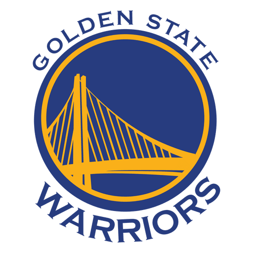 Golden states warriors logo.