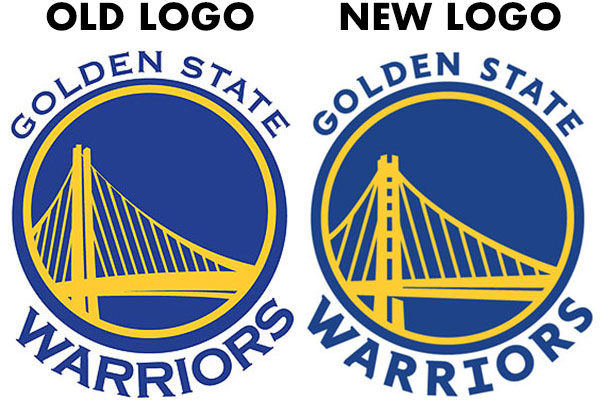 See the small changes the Warriors are making to their logo.