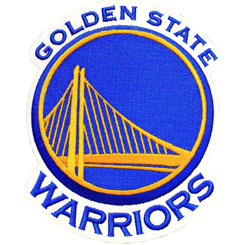 Official Golden State Warriors Logo Large NBA Basketball Patch Emblem.