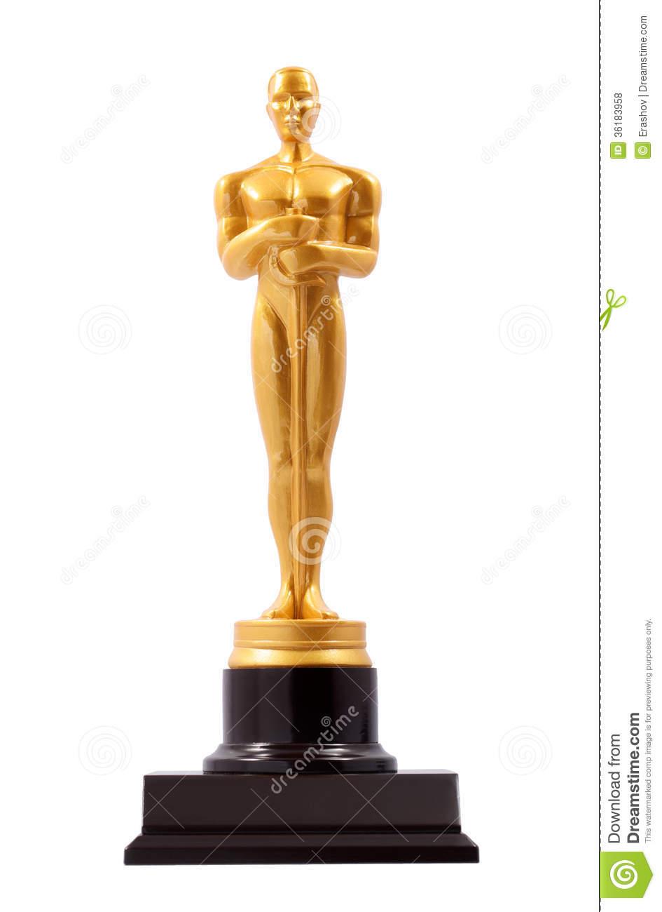 Gold Statue Clipart.