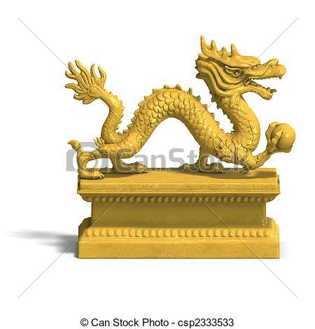 Dragon statue Stock Illustrations. 464 Dragon statue clip art.