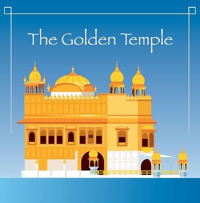 Golden Temple Clipart.