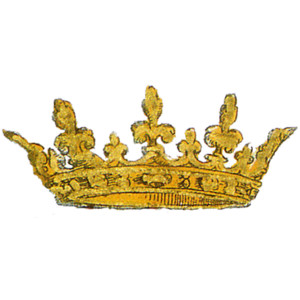 Bling crown clipart.