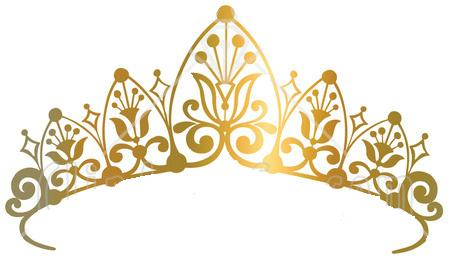 Gold Tiara Clipart.