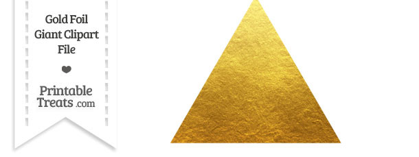 Gallery For > Gold Triangle Clipart.