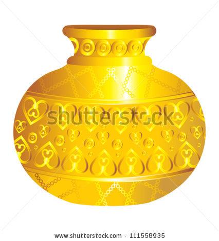 Gold Pottery Stock Vectors & Vector Clip Art.