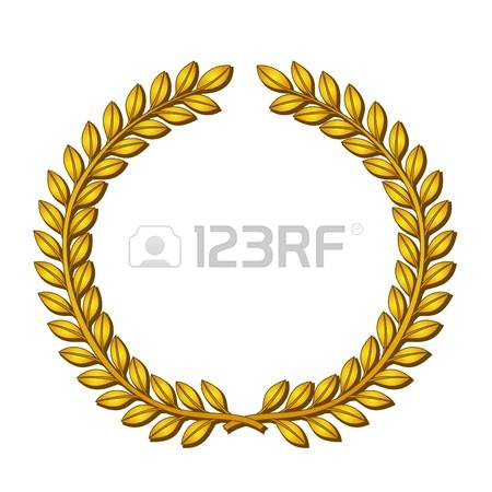 15,795 Gold Wreath Cliparts, Stock Vector And Royalty Free Gold.