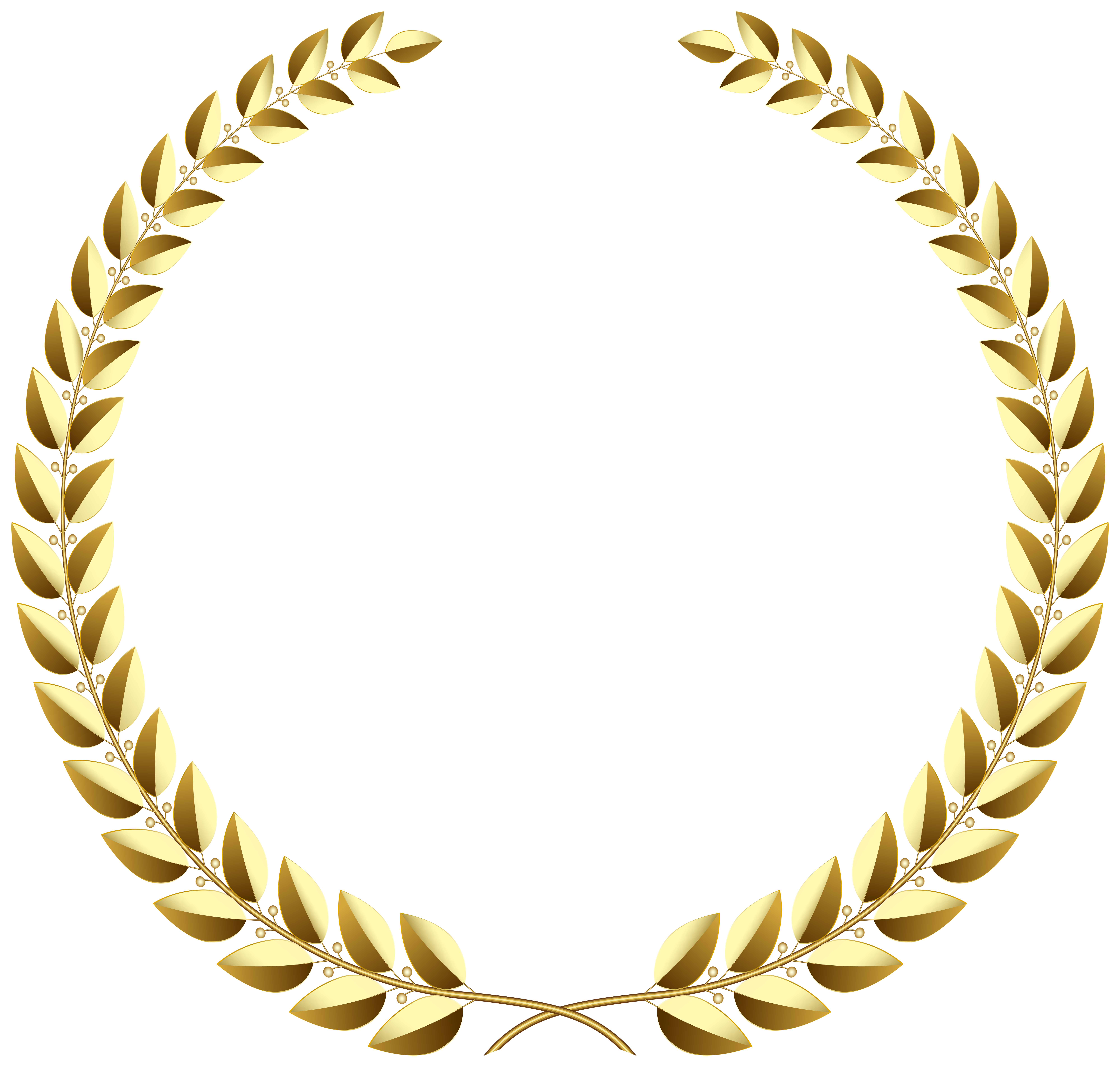Golden Wreath Clipart 20 Free Cliparts