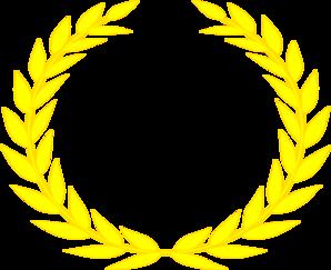 Golden Wreath Clipart Clipground