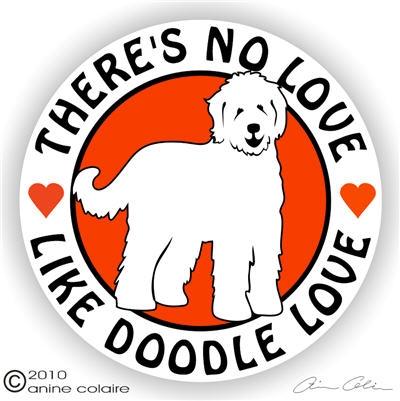 Goldendoodle Decals & Stickers – NickerStickers.