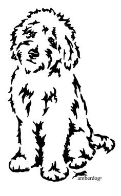 Free Labradoodle Silhouette Cliparts, Download Free Clip Art, Free.
