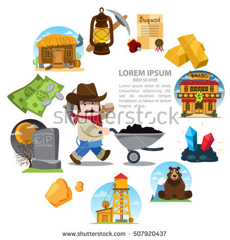 Prospector Stock Images, Royalty.