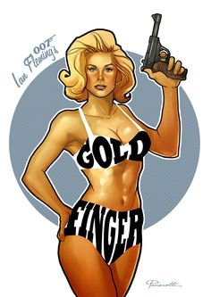 m. GOLDFINGER artwork.
