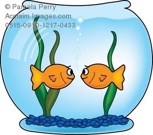 Goldfish Bowl Clipart.