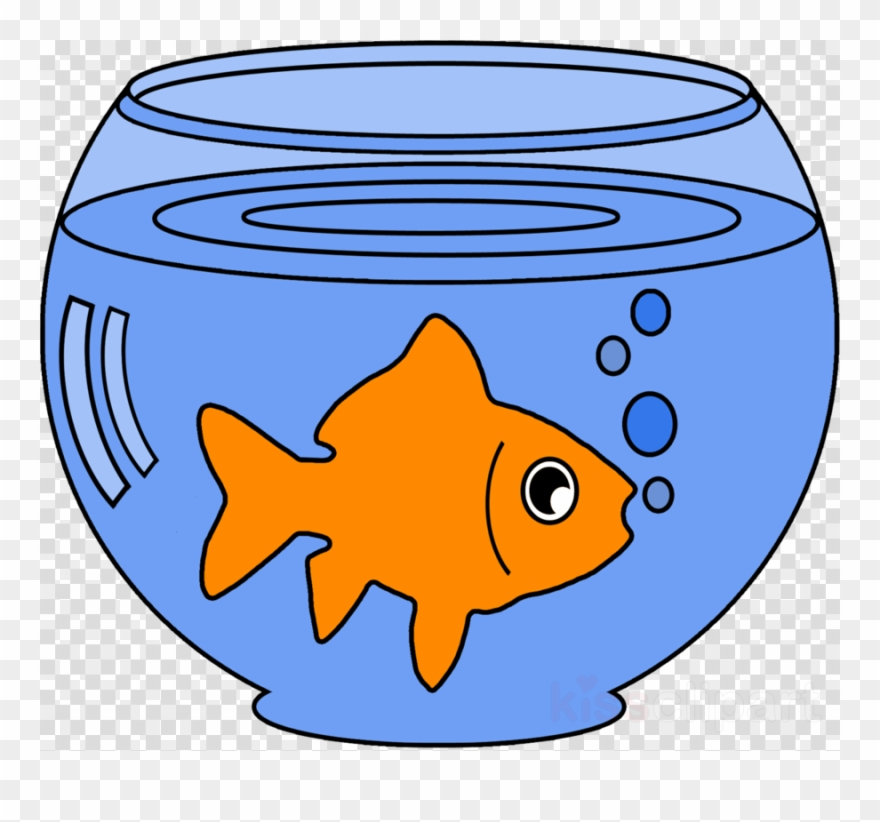 Goldfish In A Bowl Clipart.
