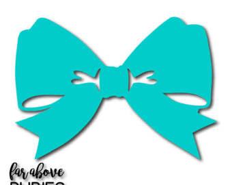 Ribbon bow tie.