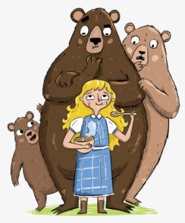 Free Goldilocks And The Three Bears Clip Art with No.